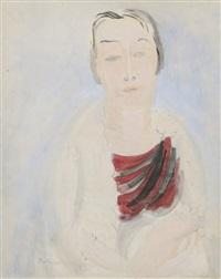 portrait d'emilienne by raoul dufy