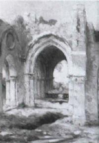 ruinas cistercienes by gaston jobbe-duval