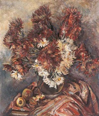 chrysanthemums by arnold joseph victor shore