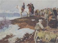 the army advance by valentin smirnov