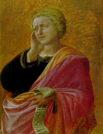 saint john the evangelist by filippo di tomaso (fra) lippi