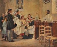 le baptême by edouard gelhay