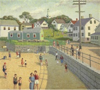 new england, rockport beach by emma fordyce macrae