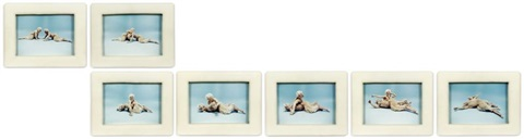 drawing restraint 7, (guillotine) (set of 7) by matthew barney