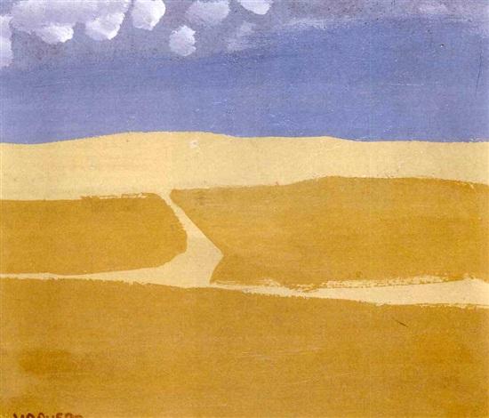 paisaje con nubes by joaquín vaquero palacios