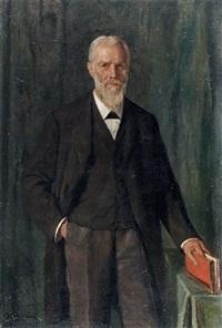 bildnis prof. grainer(?) by otto sohn-rethel