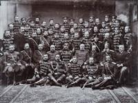 dignitaires de l'armée russe by jan mieczkowski