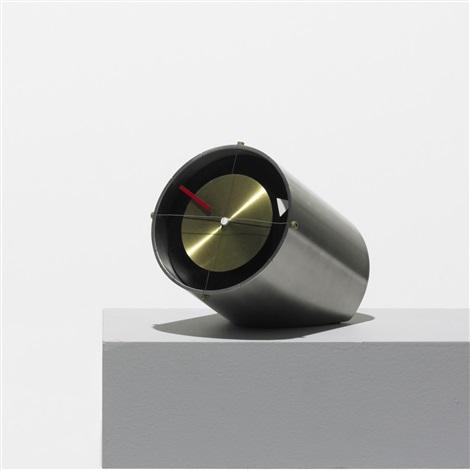 Clocknik Table Clock, Model 2270b By George Nelson U0026 Associates