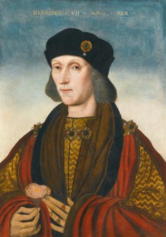 portrait of henry vii by british school 16