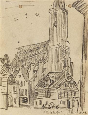 lüneburg by lyonel feininger