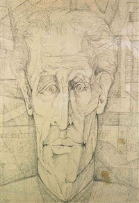 the long-faced man by 'abd al-hadi el-gazzar