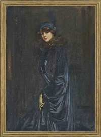 portrait of a lady by robert lea maccameron