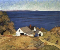 shore farm by gertrude fiske