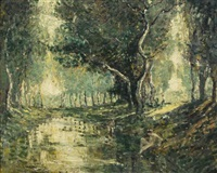 the bathers by ernest lawson