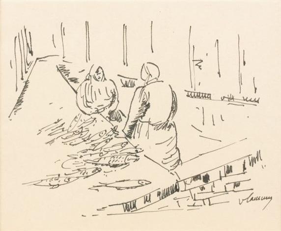 normandie létal de poissons by maurice de vlaminck