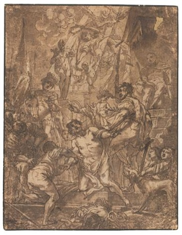 the martyrdom of st george by cornelis schut the elder