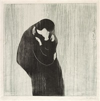 der kuss. iii by edvard munch