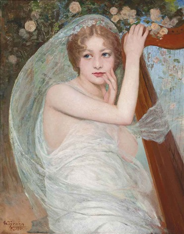a spring muse by georg tyrahn