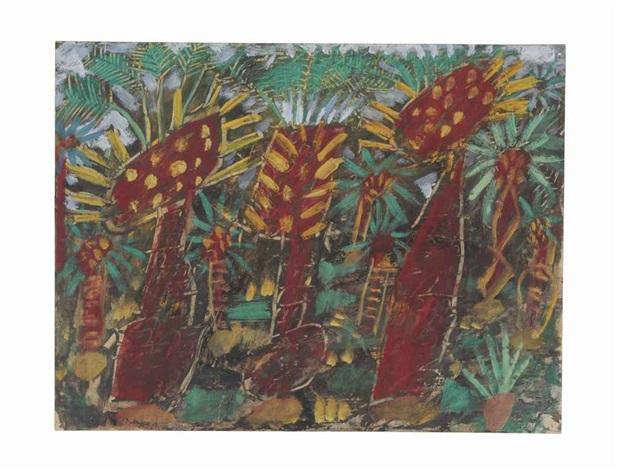 palmeraie by jean dubuffet