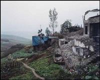 three gorges dam, wushan #2, yangtze river, china by edward burtynsky