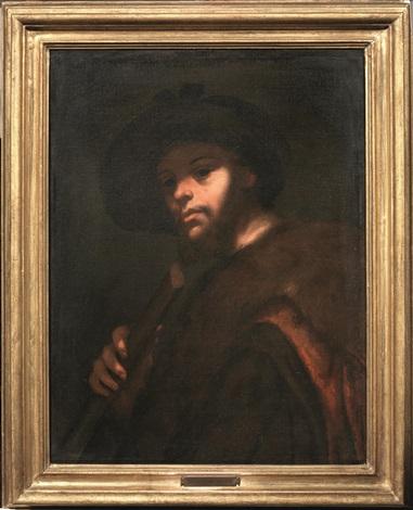 pastore con flauto by luca giordano