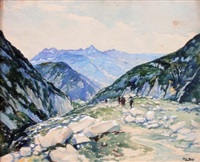 le col de la balme à chamonix by fred money
