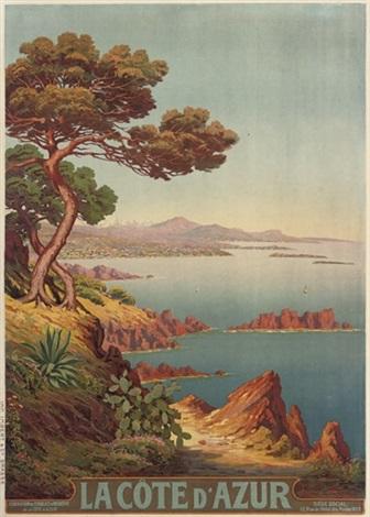 la côte dazur by adelin charles morel de tanguy
