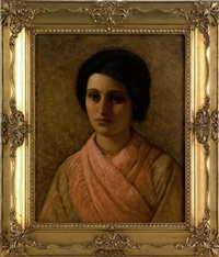 portrait of a woman by william sartain