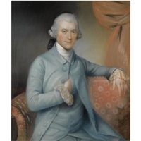 portrait of george medley by john russell