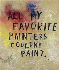 untitled all my favorite painters couldn't paint by friedrich kunath