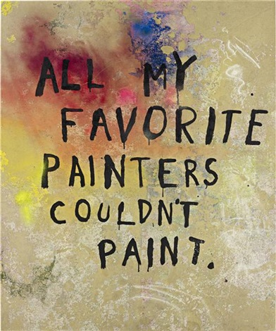 untitled all my favorite painters couldnt paint by friedrich kunath