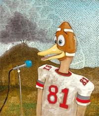 football duck by sean landers