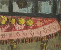 nature morte aux pommes by jean couty