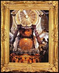 saint peter's basilica by von hammill