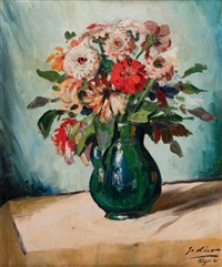 vase de fleurs, alger by gustave lino