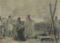 martirio di sant' andrea by nicolo barabino