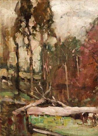 bush scene by theodore penleigh boyd
