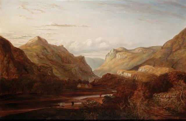 glenmessen holy loch by henry g duguid
