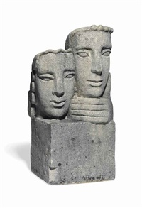 two heads by frank dobson