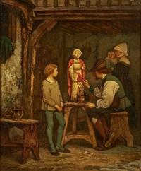le cours de restauration de sculptures by willem linnig the younger