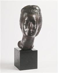 portrait of joan by saul baizerman