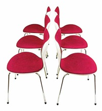 series 7 chairs (set of 6) by arne jacobsen