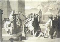gerichtsszene aus der griechischen mythologie by robert von langer