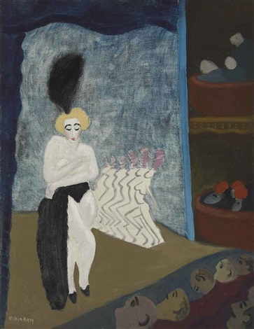 burlesque by milton avery