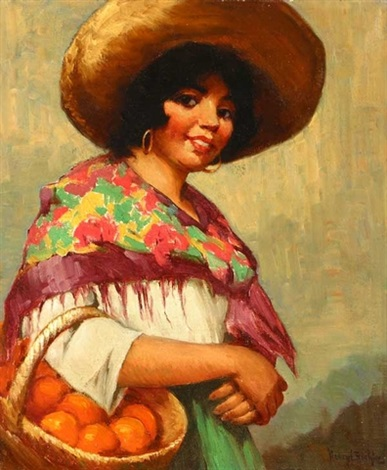 the fruit vender by henry leopold richter
