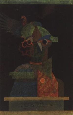 madárijesztö önarckép bogey self portrait by györgy szemadám