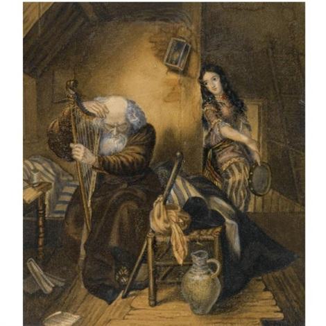 scene from willhelm meisters apprenticeship by karl pavlovich bryullov