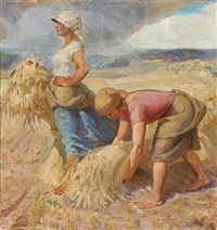 harvesters by carl forup