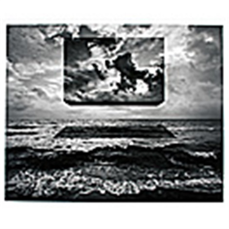 untitled box of sky by jerry uelsmann