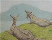 inishbofin donkeys by patrick leonard